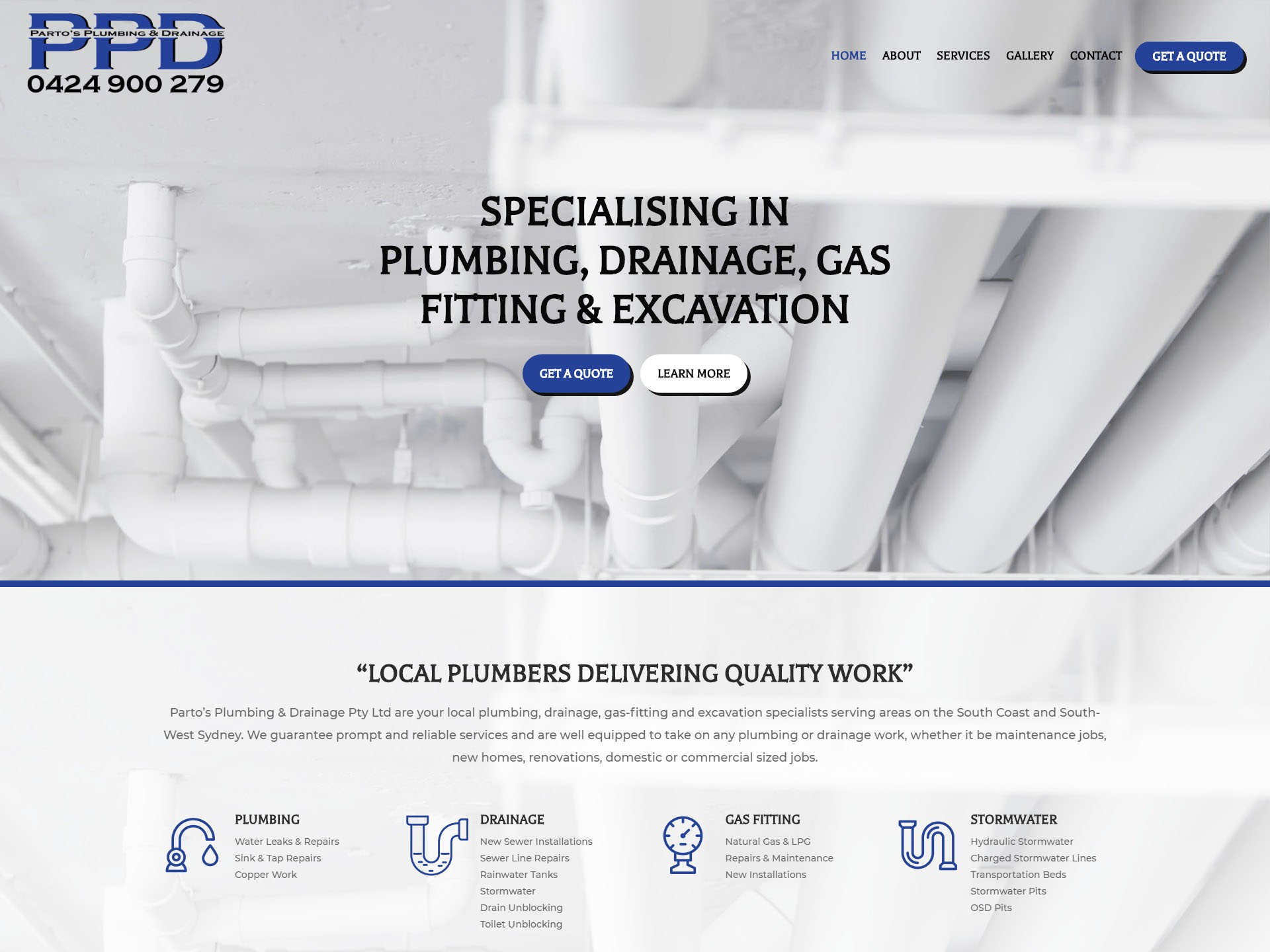 Parto's Plumbing & Drainage | Top-Rated Wollongong Plumber
